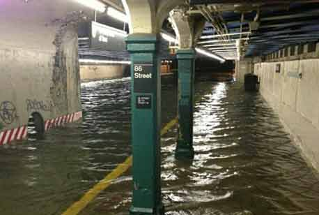 Submerged Subway