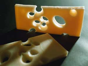Who's Stealing Our Swiss Cheese Holes?