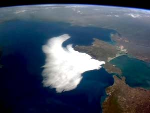 Clouds Swoop on the Crimea
