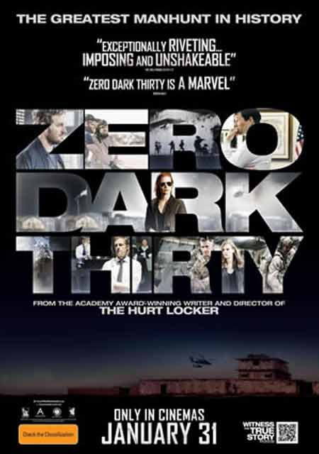 """Zero Dark Thirty: Poster"