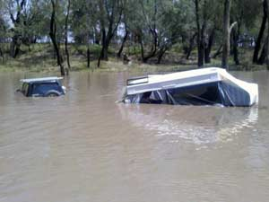 Flooding in Queensland
