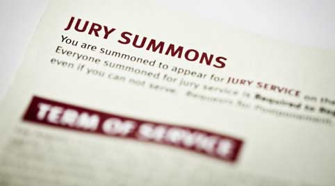 Typical Jury Summons