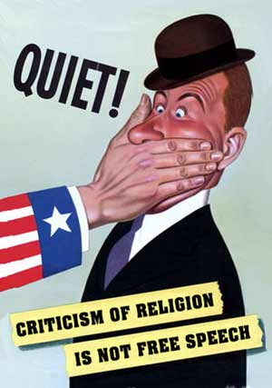 Criticism of Religion Is Not Free Speech