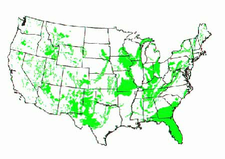 Karst Regions of the US