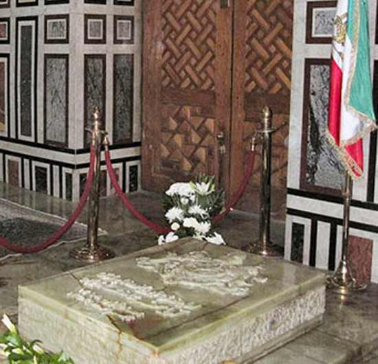 Tomb of Mohammed Reza Pahlavi in Cairo