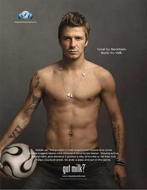 David Beckham, Advertising Hall of Fame, 2006