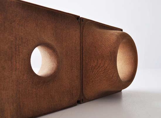 3D Printed Wood Made from Wood Pulp