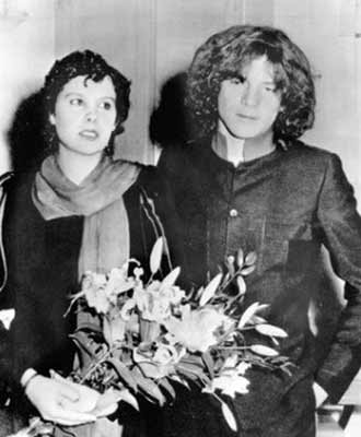 J Paul Getty III and Martine Gisela Zacher