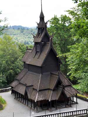 Fantoft Stave Church, Bergen