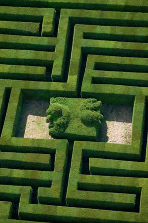 Hatfield House Labyrinth, Hertfordshire, England
