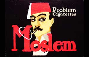 Moslem Problem Cigarettes