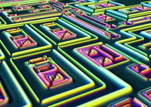The Surface of a Microchip