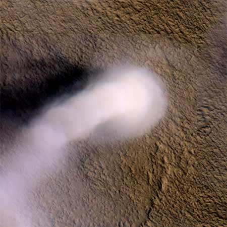 Dust Devil Threat to Martians