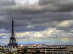 Horizontal Rainbow in Paris