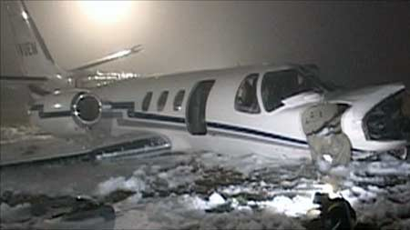 Private Jet Crashes