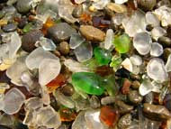 Glass Beach Closeup