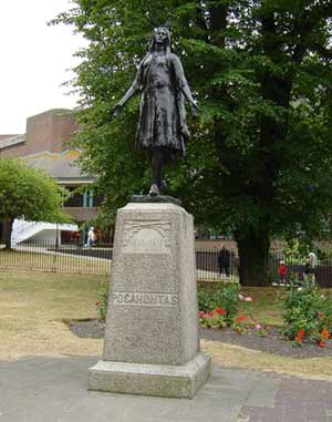 Pocahontas — Gravesend near London