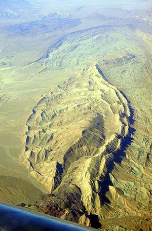 Anticline/Double Planch, Iranian Zagros