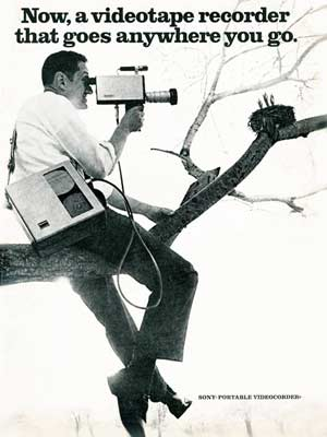 1967 Sony Video Camera Ad