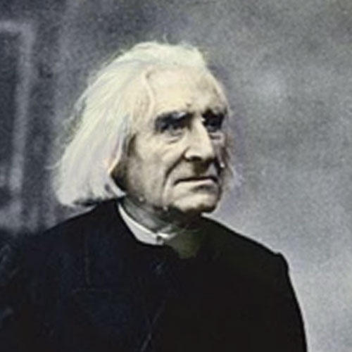Here, Liszt was 74