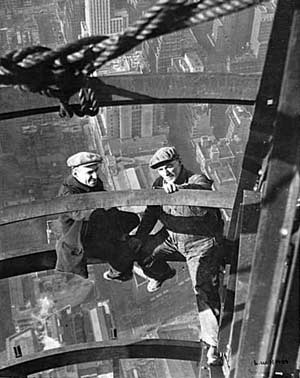 Building the Empire State, 1930