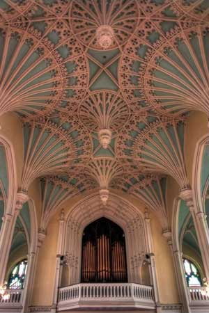 Organ and Ceiling