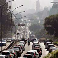 Giant Brazilian Traffic Jam