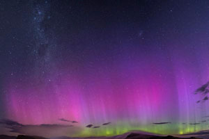 Aurora Australis in NZ