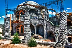 New Dome Earthship