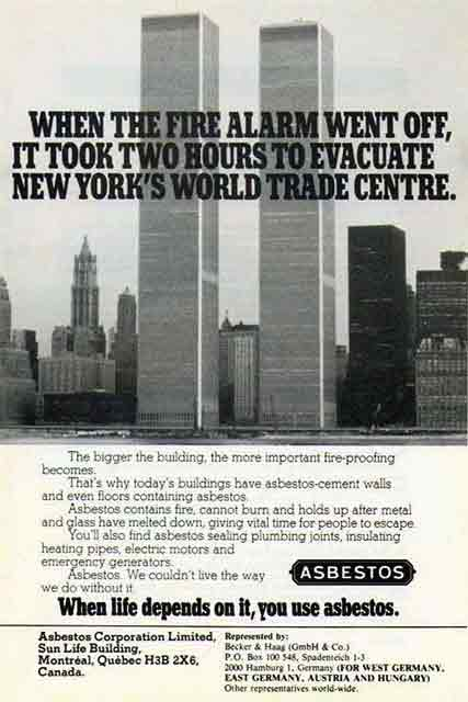 From _Asbestos_ Magazine, November 1981 (AFTER the Dangers of Asbestos Were Becoming Known).