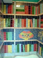 Bathroom Library Tiles