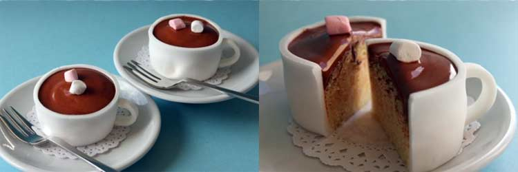 A Cup of Chocolate (Cake)