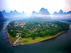 The Town of Guilin