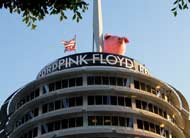 Capital Records Building: LA Pink Pigs and Grey Floyds