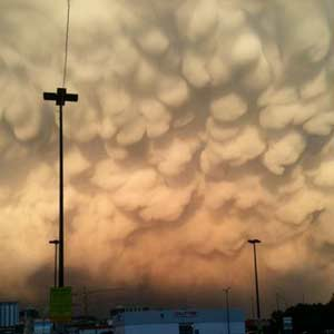 Mammatus Cloud Wall