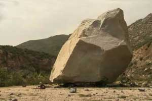 The Real Art Is in Moving the Rock