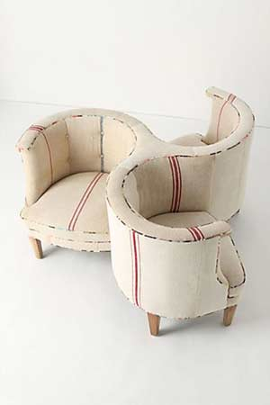Three-Seater American Chair