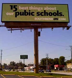 Public School Billboards