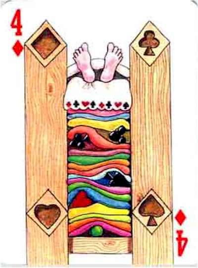 Image result for FOUR of Diamonds cards