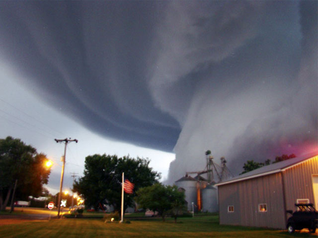 Funnel Cloud Forming