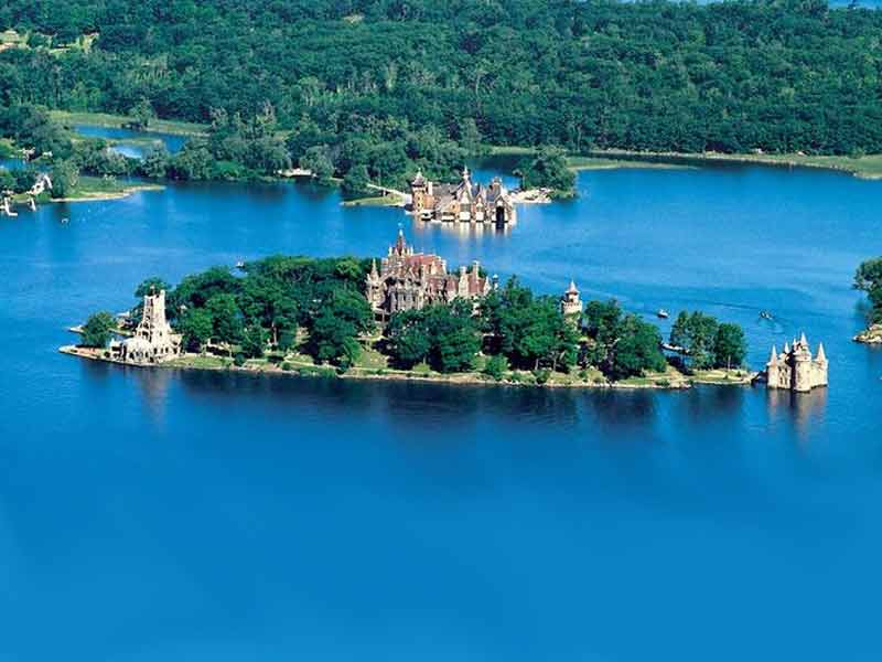 of the thousand islands in