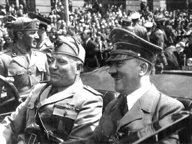 history how did hitler and mussolini /r/history is a place for discussions about history discussion/question what language did mussolini and hitler speak to each (with hitler and mussolini.
