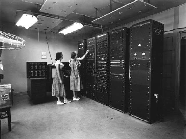 computers in the 1950s A look back at the computer's development, however, restores a sense of  to  track and intercept enemy aircraft from the 1950s to the 1980s.