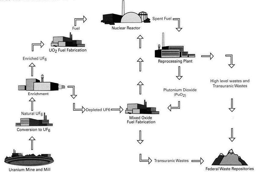 recycling nuclear waste essay One major unresolved issue arises as the result of using nuclear power: what happens to waste generated in this process as of right now, the waste is stored on site or in deep geological repositories however, with what was to be the country's end all storage site (the yucca mountain repository.