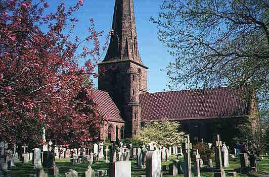 Old Virginia churchyard
