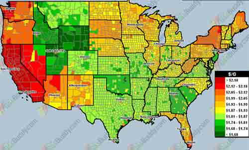 Calm On The Surface But - Cost of living comparison us map