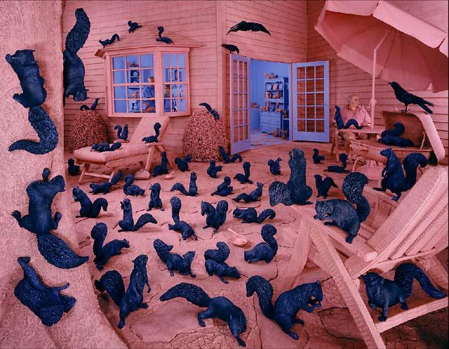 Gathering paradise, © 1991 sandy skoglund