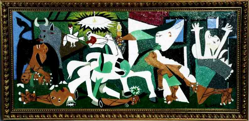 25+ best ideas about Guernica painting on Pinterest | Picasso ...