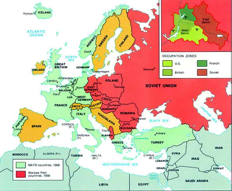 europes cold war the 1945 History essay the cold war 1945-1954 the origins of the cold war after world of russia in eastern europe could become a threat to the uk and the rest of europe.