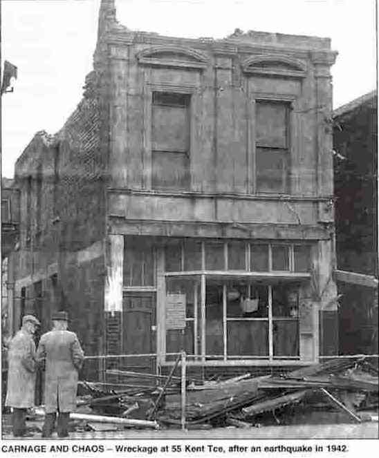 1843 wanganui earthquake for 16 the terrace wellington